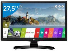 "Smart TV LED 27,5"" LG 28MT49S-PS - WebOS 3.5 Conversor Digital Wi-Fi 2 HDMI USB"