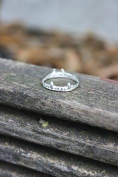 Vampire Crown Ring - Shop at www.aprilandthebear.com Costume Rings, Gift Guide, Fashion Forward, Gifts For Her, Best Gifts, Silver Rings, Crown, Christmas, Shopping
