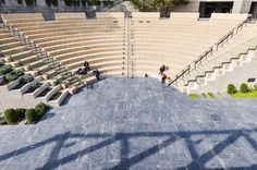 #ampitheatre #architecture #open air #people #sitting #stage #stairs #theater #theatre