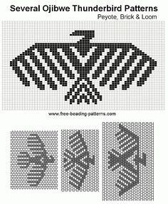 brick-stitch-beadwork-design-ojibwe-thunderbirds