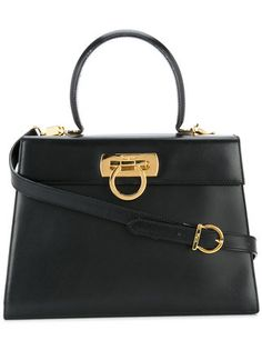 2026389e3e Authentic Salvatore Ferragamo Gancini Bag   Kelly Bag   Top Handle Bag  Authentic  Mini Size  in 2018