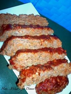 dorrito meatloaf-- I'll admit, I am only trying this tonight because I have the ingredients