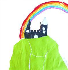 SPROOKJES BESTAAN NOG! Illustratie bij prinses Iris en het regenboogmuseum