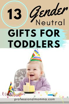 Looking for gift ideas for a toddler birthday? Sometimes its hard to find unique gifts that work for both boys and girls. Find out what toddlers really want for their first birthdays and toddlers turning Gender Neutral Toys, Unique Gifts, Best Gifts, Non Toy Gifts, 18 Month Old, Pinterest Design, Thing 1, 1 Year Olds, Toddler Gifts