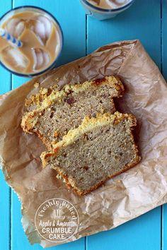 Milk and Honey: Apple and Amaretto Crumble Cake