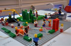 service design with lego