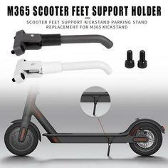 Scooter Kickstand Parking Stand Feet Holder Repair Accessories for Xiaomi Mtb Bike, Cycling Bikes, Bicycle, Scooter Storage, Electric Scooter, Rust, Ebay, Accessories, Bike