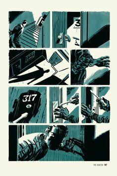 """Richard Stark's Parker, Vol. 1: The Hunter"" by Darwyn Cooke via Subtraction.com"
