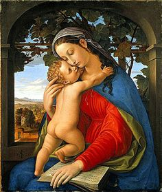 The Athenaeum - Madonna and Child (Julius Schnorr von Carolsfeld - )