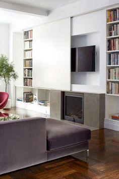 Idéal pour une soirée cocooning devant un bon film, le téléviseur n'est pas un bel objet de décoration pour autant.