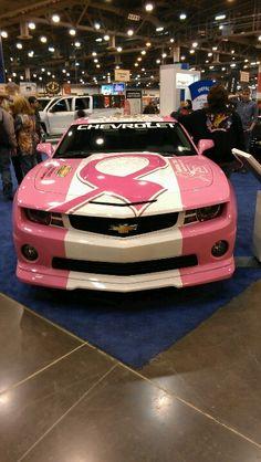 Pink Camaro - Breast Cancer Awareness