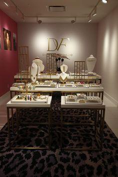 Diane von Furstenberg's jewelry showroom. [Photo by John Aquino]