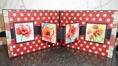 Beautiful card by Sandy Tillotson. Poppies, Frame, Cards, Beautiful, Home Decor, Homemade Home Decor, Interior Design, Frames, Home Interiors