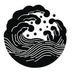 荒波紋 WAVE