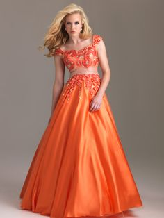 mormon prom dresses | Modest Prom Dress Fuchsia Floral Night Moves Gown 6575M [WU374] - $160 ...