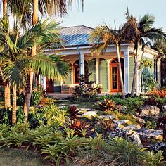 10 Ways to Create a Backyard Oasis We asked Miami landscape architect Raymond Jungles, who's known for this lush, low-fuss gardens, to share his secrets for turning any yard into a tropical retreat.