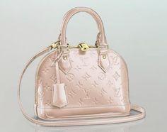 Louis Vuitton Alma BB in Rose Angelique (new Vernis color)