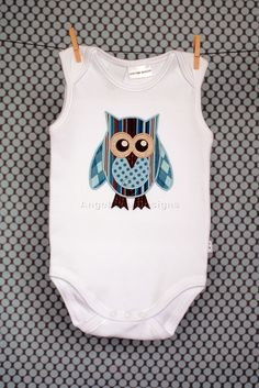Owl Applique Template and Owl on Branch Applique Template