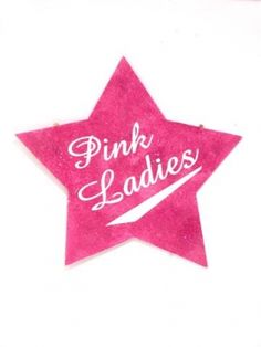 Grease Pink Ladies Clipart