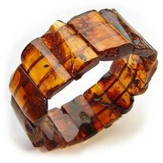 Massive Baltic amber bracelet