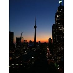 My seen from the balcony of my condo Mondays, Cn Tower, Balcony, Toronto, Condo, This Or That Questions, Building, Illustration, Artist