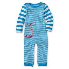 giggleBABY™ Striped Helicopter Coveralls - Boys newborn-24m Item #FC355-4045D