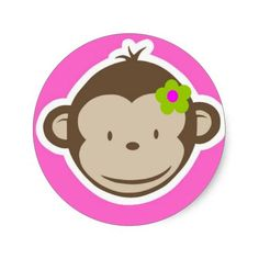 =>Sale on          Girly Monkey Round Sticker           Girly Monkey Round Sticker online after you search a lot for where to buyShopping          Girly Monkey Round Sticker Review on the This website by click the button below...Cleck Hot Deals >>> http://www.zazzle.com/girly_monkey_round_sticker-217592579853574424?rf=238627982471231924&zbar=1&tc=terrest