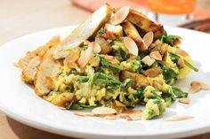 Stamppot rauwe spinazie met kip - Recept - Allerhande
