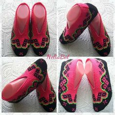 Tunisian Crochet Stitches, Flip Flops, Women, Fashion, Moda, Fashion Styles, Beach Sandals, Fashion Illustrations, Slipper
