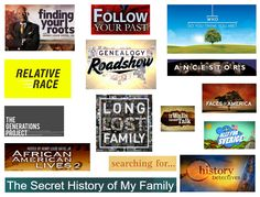 It only took about two decades, but this genie's wish has finally been granted: genealogy is now officially its own TV genre. With current offerin. See And Say, Nigeria News, The Secret History, Family Genealogy, American Life, Family History, Thinking Of You, Songs, Tv