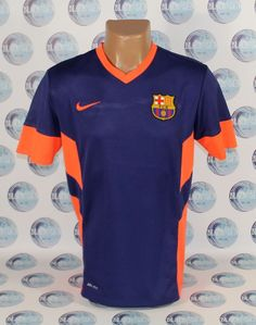 BARCELONA TRAINING FOOTBALL SOCCER SHIRT JERSEY CAMISETA MAILLOT NIKE M BARCA #Nike #BARCELONA
