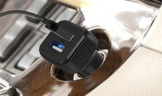 38% off Maxboost 4.8A/24W Dual USB Port Smart Car Charger - Deal Alert