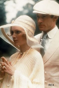 The Great Gatsby ~ Mia Farrow and Robert Redford