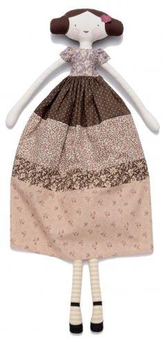 Doll cotton fabrics Mini Labo