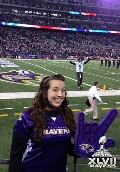 Paint the world purple with the Baltimore Ravens! #BaltimoreRavens #Ravens #SuperBowl