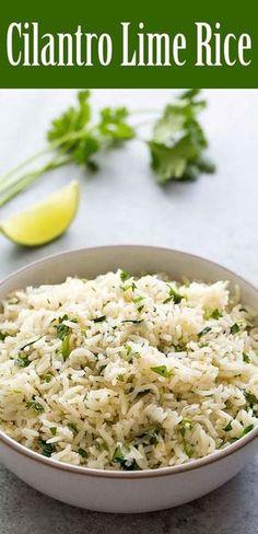 BEST cilantro lime r