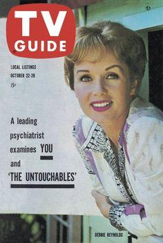 TV Guide: October 22, 1960 - Debbie Reynolds