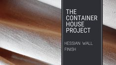 Dado Rail, Macro Shots, Wall Finishes, Hessian, Wood Glue, Lounge Areas, Interior Walls, Brick Wall, Textured Walls