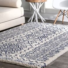 online shopping for nuLOOM Hurley Tribal Shag Rug, x Navy from top store. See new offer for nuLOOM Hurley Tribal Shag Rug, x Navy Navy Rug, Protecting Your Home, Rugs Usa, Rug Sale, Online Home Decor Stores, Online Shopping, Beige Area Rugs, Rugs Online, Colorful Rugs