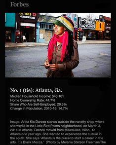 🔥A T L A N T A🔥 Is #1 Amongst The Cities Where African-Americans Are Doing The Best Economically In 2018! - @Forbes  __________________________________________________________ #Atlanta #AtlantaRealEstate #Entrepreneur #Millennials #Thrive #AtlantaRealtor #RealtorLife #BuyersAgent #SellersAgent #Investors #Committed #ClaytonCounty #Jonesboro #FultonCounty #Campcreek #NorthAtlanta #Decatur #BuckheadAtlanta #SandySprings #KellerWilliams #Equity  #realestate #Mindset #sandysprings #buckheadatl…