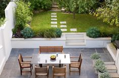 Some garden design projects successfully completed in and around London by the london garden designer Sara Jane Rothwell. Back Gardens, Small Gardens, Outdoor Gardens, Gardens On A Slope, Garden On A Hill, Lawn And Garden, Garden Beds, Landscaping On A Hill, Luxury Landscaping