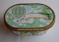 Scrapbookingitalia: Come riciclare le confezioni di gelato Decoupage, Plastic Bottles, Project Life, Home Organization, Reuse, Gelato, Cardmaking, Art Projects, Lunch Box