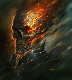 Ghost Rider by dirtyandbroken.deviantart.com on @deviantART