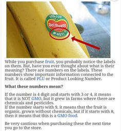 Grocery shopping for fruit. Non-GMO and organic produce. PLU numbers at check out on stickers