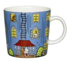 New 2015 - Arabia Moomin Mug - Moomin House