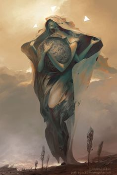 Hesed  Art by Peter Mohrbacher  Part of my Tree of Life series for Angelarium. A surreal series based on the Kabbalah.
