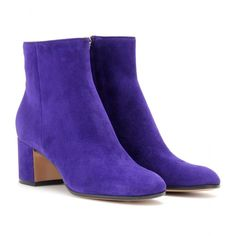mytheresa.com - Gianvito Rossi - SUEDE ANKLE BOOTS - Luxury Fashion for Women / Designer clothing, shoes, bags