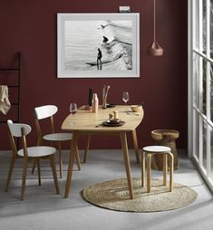 Kylie Natural Dining Table by Innova Australia