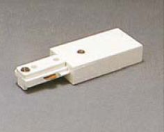 "2-circuit end power feed to start a run. (Adds 2 3/4"" to length.)  Regular price: $25.00  Sale price: $18.00"