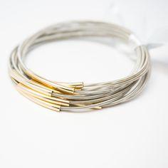 Stackable Spring Wire Bracelets